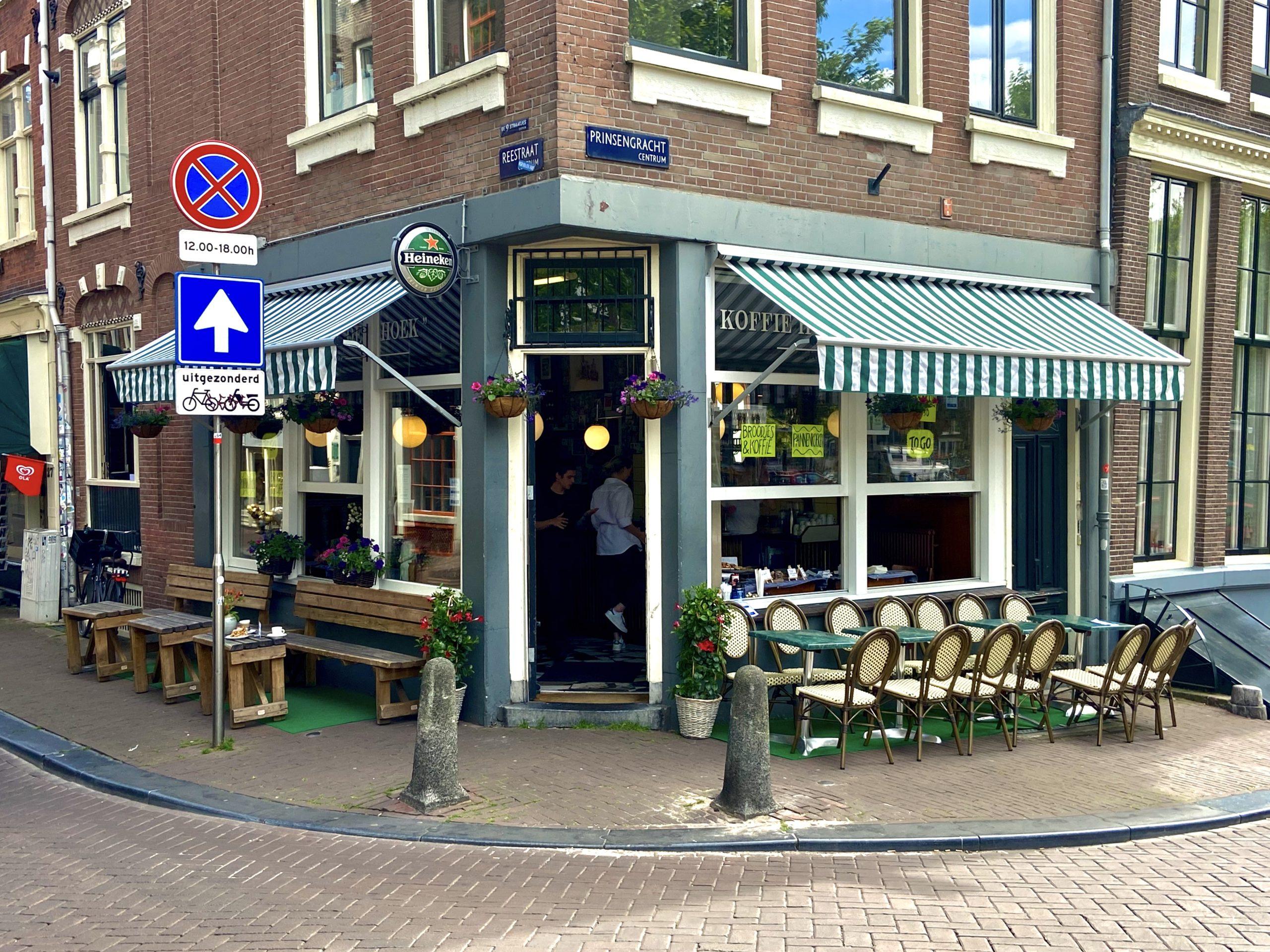 Koffiehuis De Hoek Buitenaanzicht